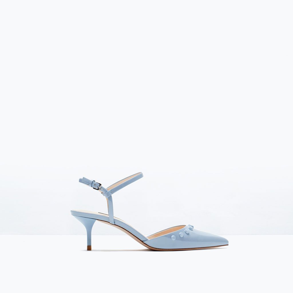 Tacón Última Semana Para Zapato Zara 30€Moda Medio Tachas f7y6gb
