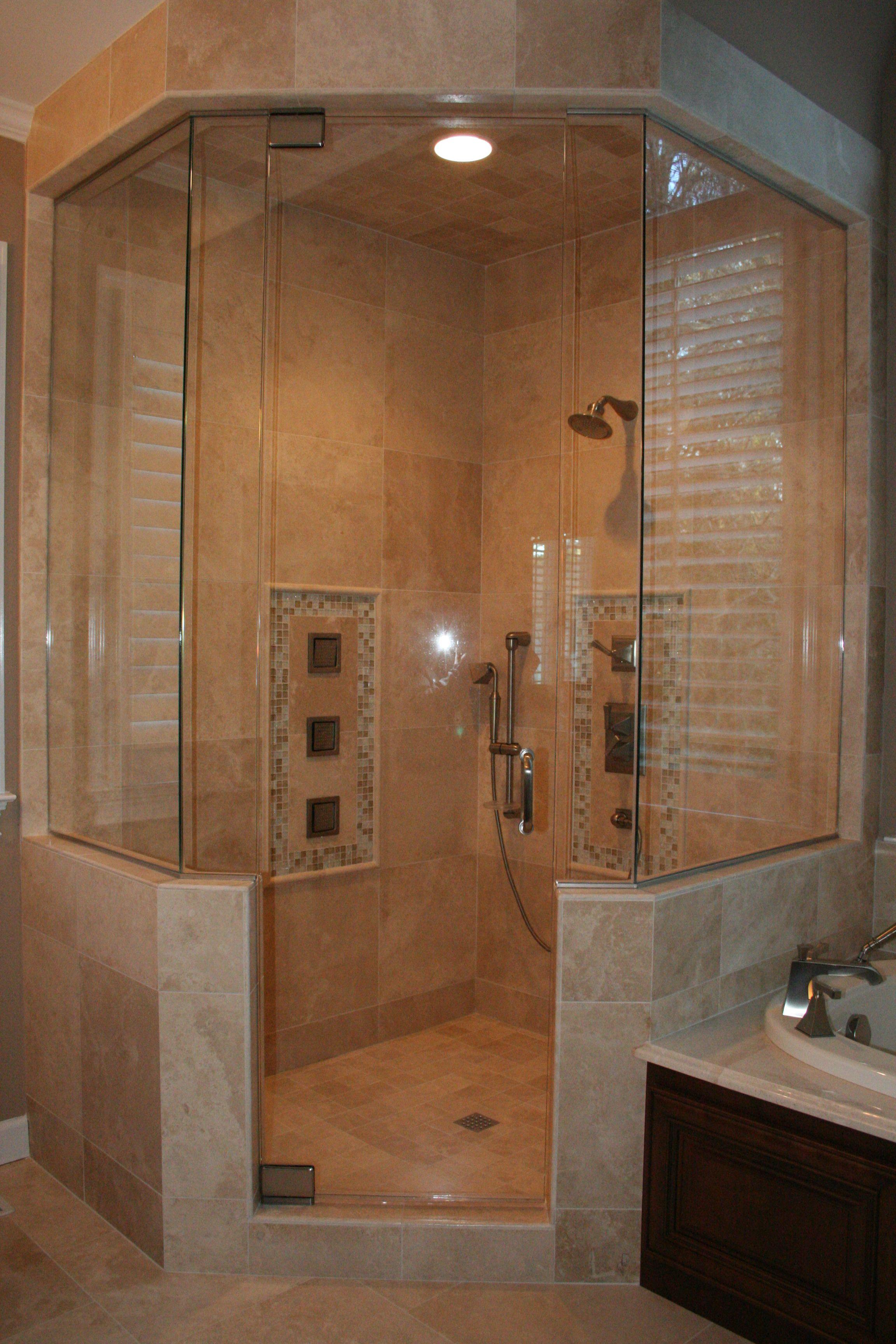 Maximize Corner Of Your Bathroom Using Neo Angle Shower: amusing ...