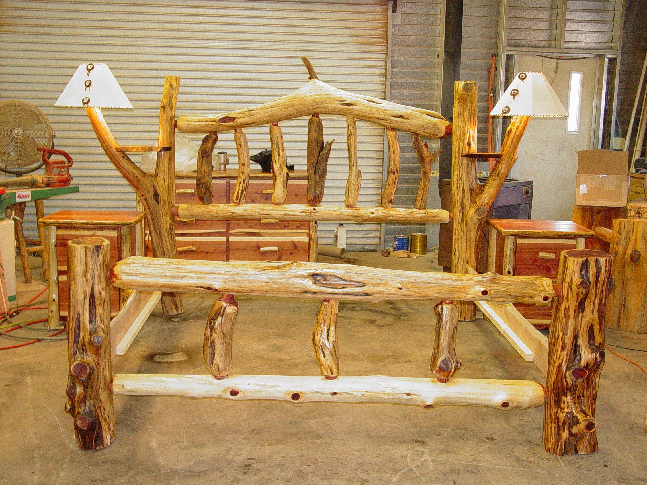 Rustic Log Beds Twisted Juniper Beds Wood Bed Design Rustic Bedding Rustic Log Furniture
