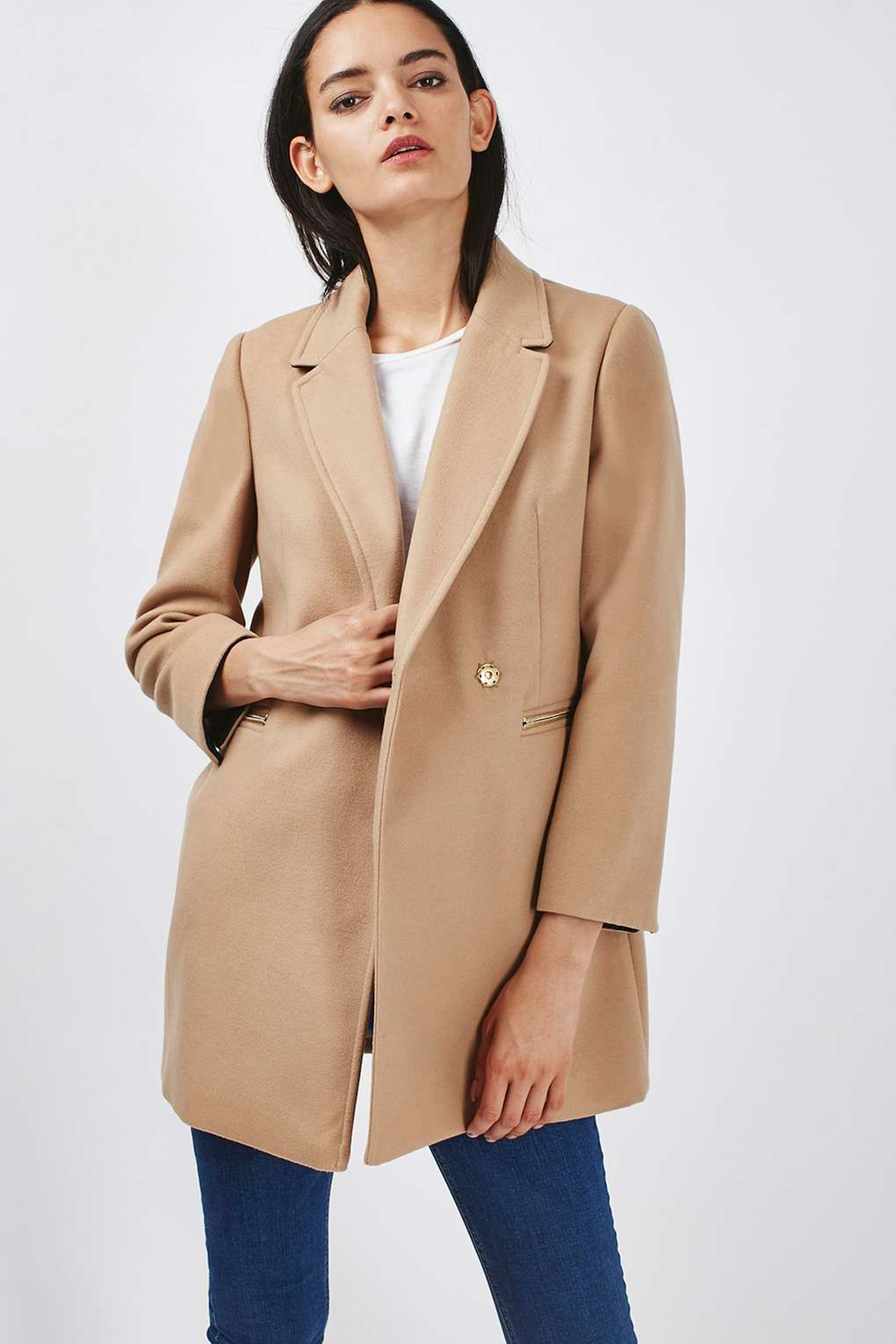 PETITE Meg Zip Coat | Coats, Topshop and Jackets