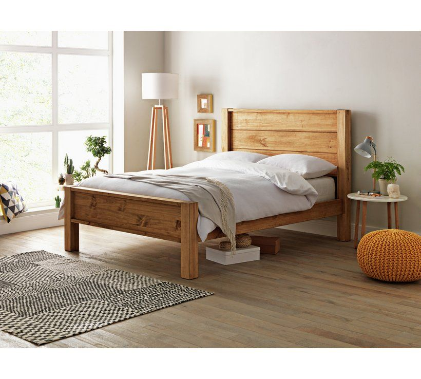 Buy Argos Home Fairfield Double Bed Frame Pine Bed Frames In