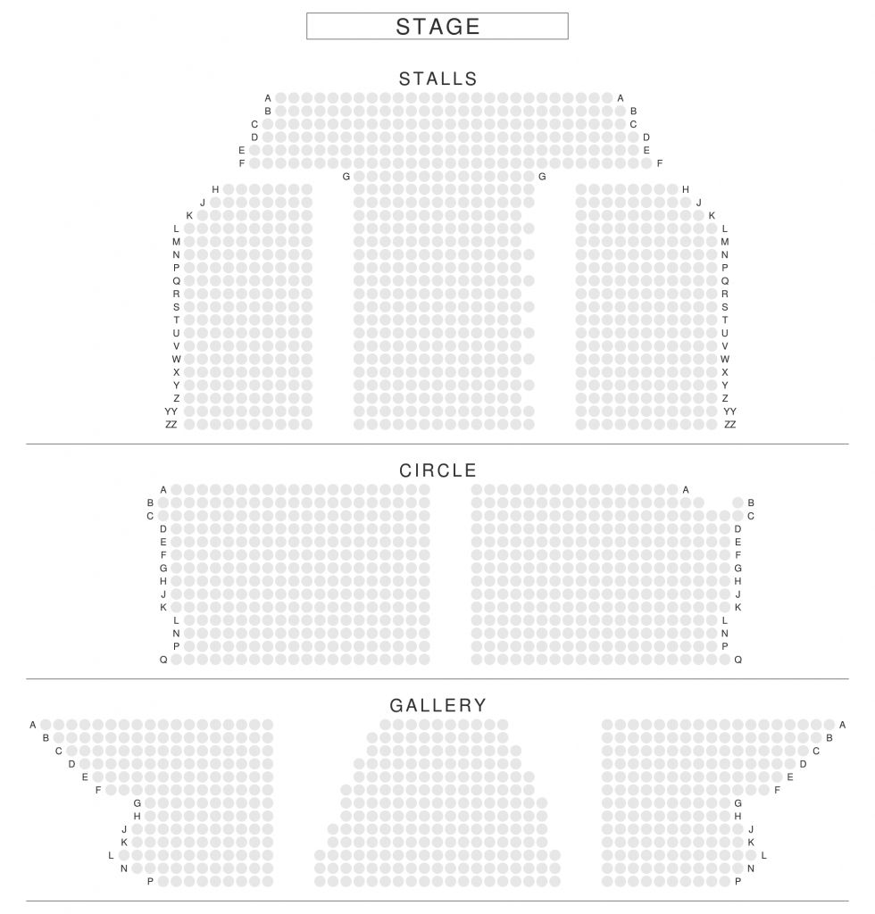 The Awesome royal opera house seating plan view