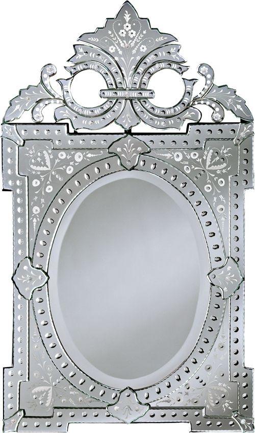 404 Not Found 1 Venetian Mirrors, Silver Mirror Frame A4