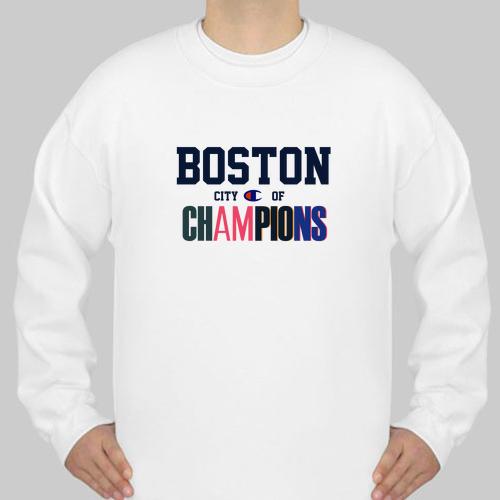 ad3a050ae094 Boston City of Champions sweatshirt