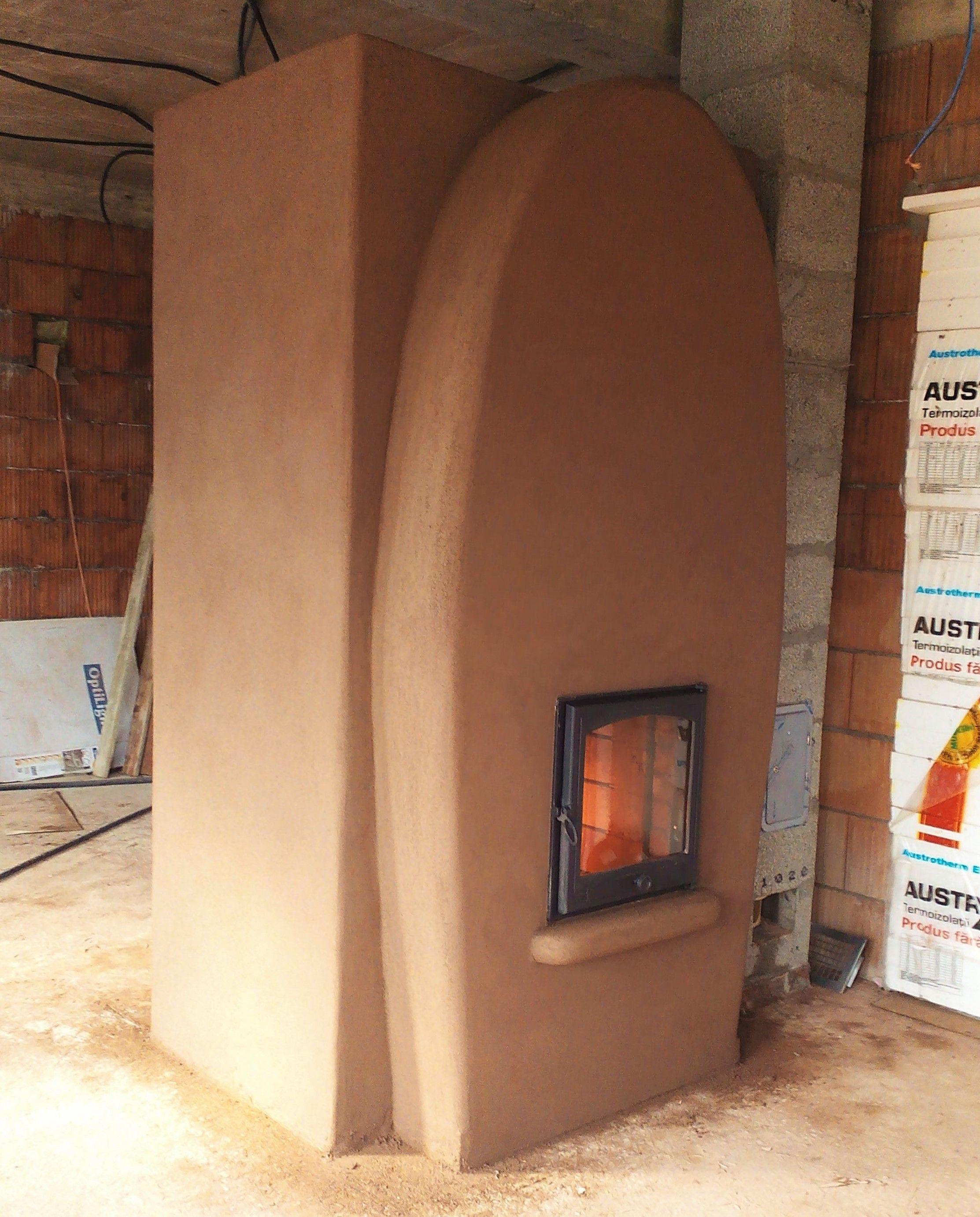 double bell stove with eco firebox 95 efficiency romania rh pinterest com