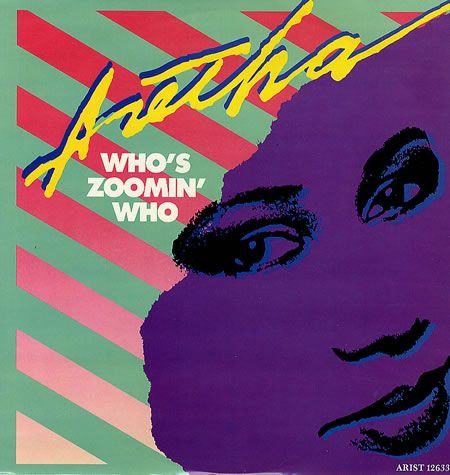 Aretha Franklin Who S Zoomin Who Album Franklin Aretha Who S