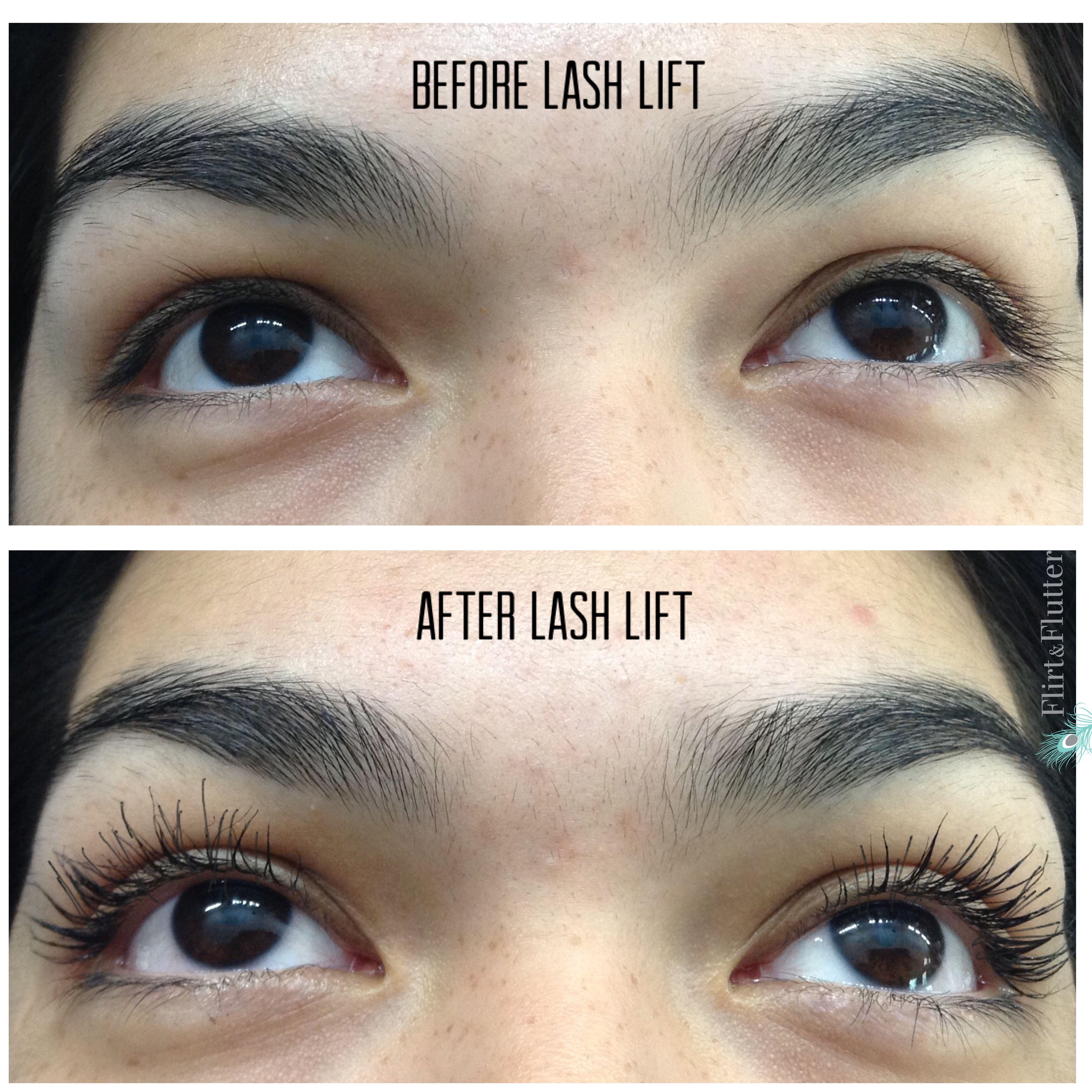 Lash Lift Services & Training by Flirt & Flutter | Lash Lift