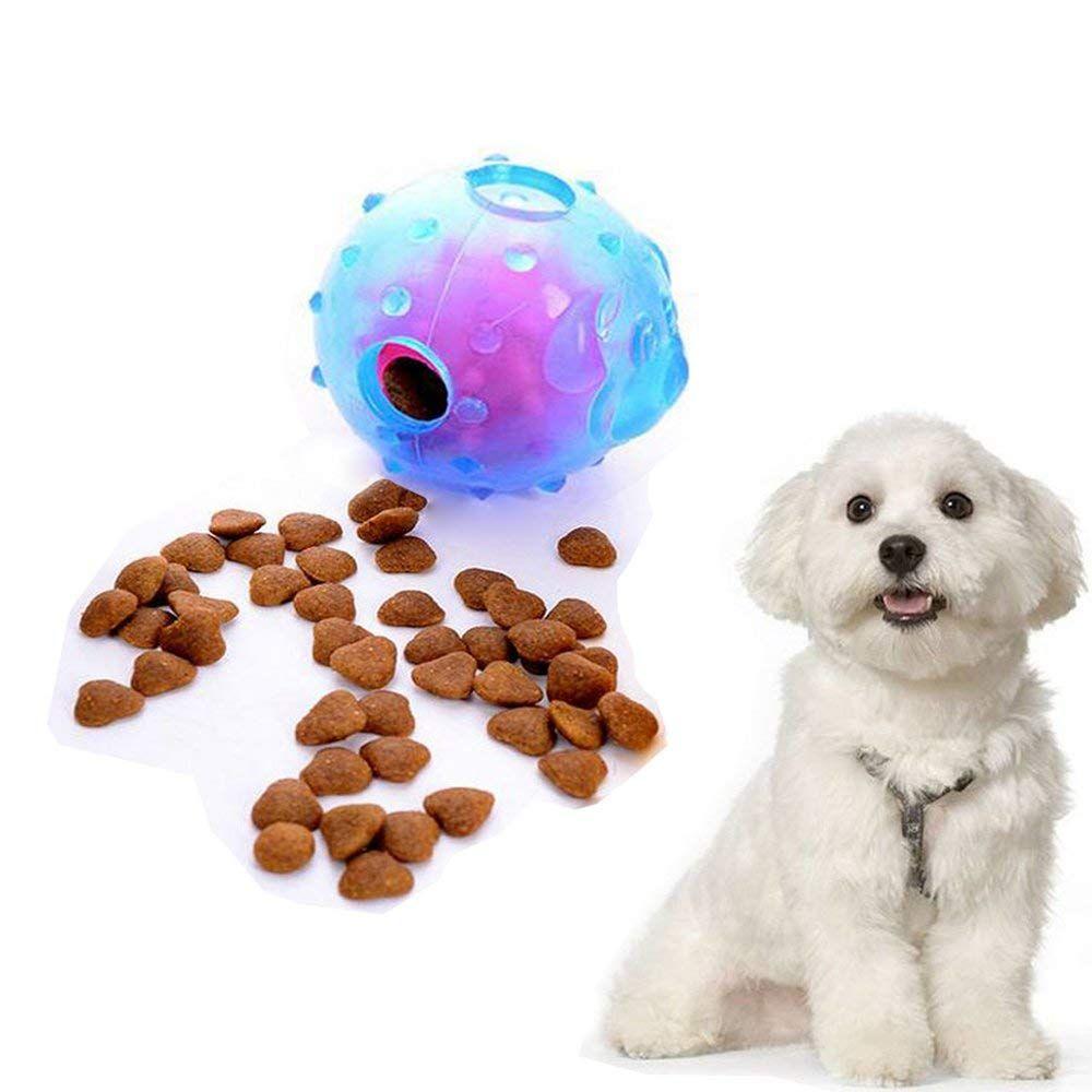 Nigecue Dog Iq Ball Treat Ball Dog Toy Balls Nontoxic Rubber Chew