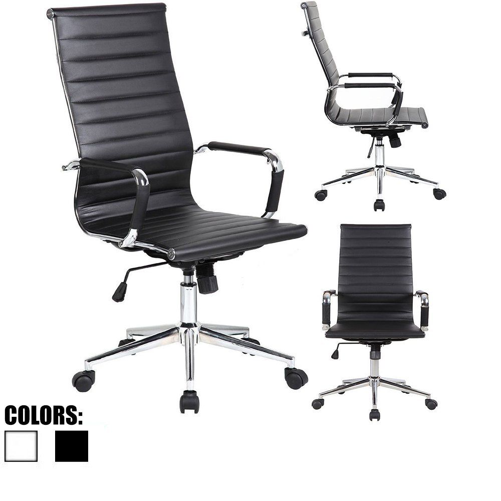 2xhome 1 chair only in total white