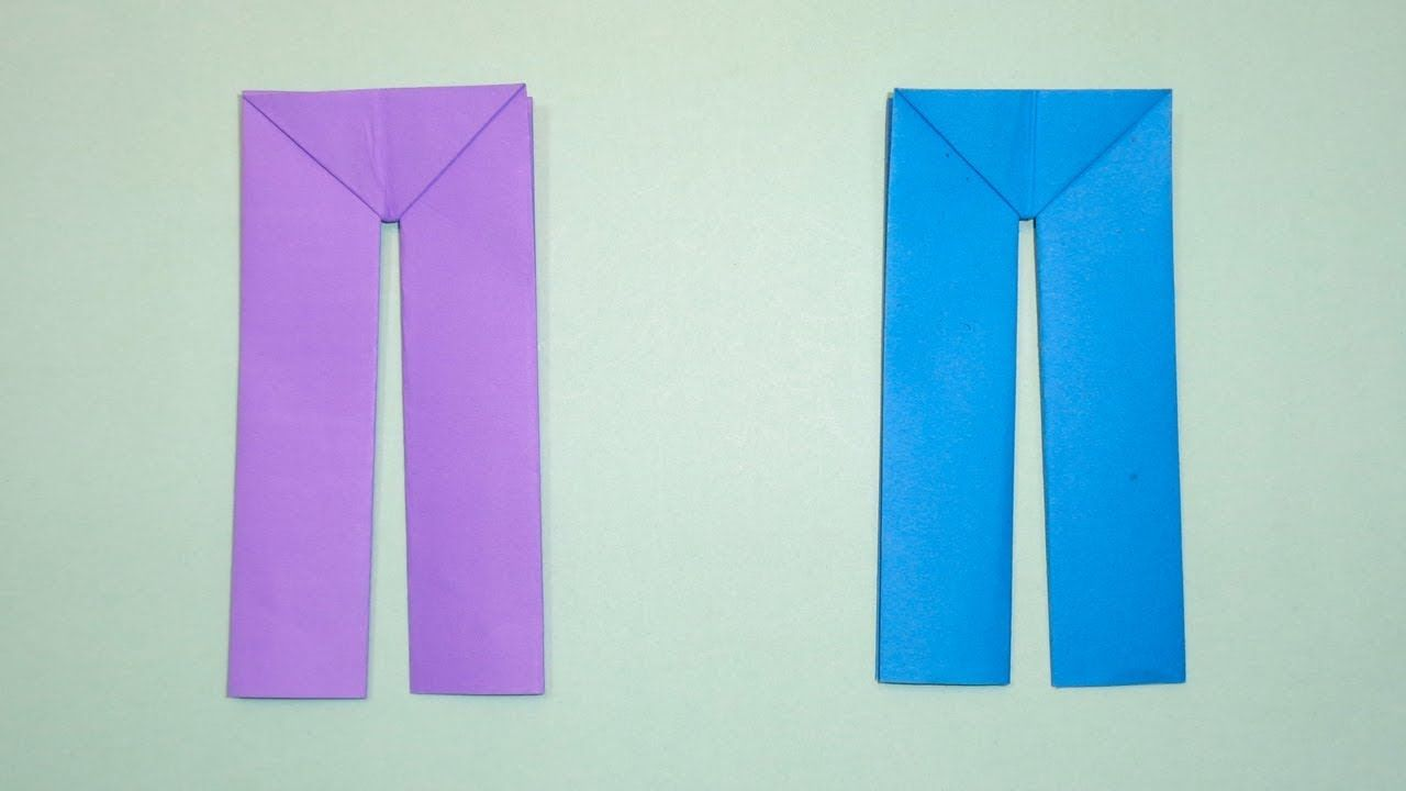 How To Make Paper Pants