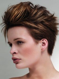 Chic Short Mohawk Hair Styles for Summer | Short hair with layers, Mens hairstyles medium ...