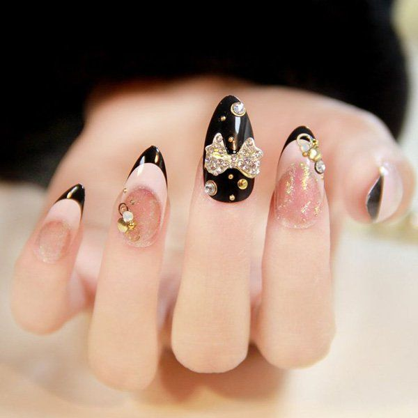 65 Japanese Nail Art Designs | Contrast color, Attitude and Rock