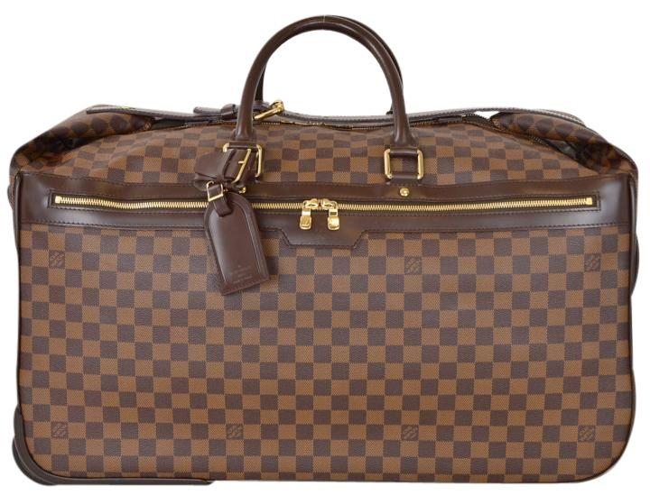 c73e16b9d783 Louis Vuitton Damier Ebene Eole 60 N23203 Unisex Wheeled Rolling Brown  Travel Bag. Save 34% on the Louis Vuitton Damier Ebene Eole 60 N23203  Unisex Wheeled ...