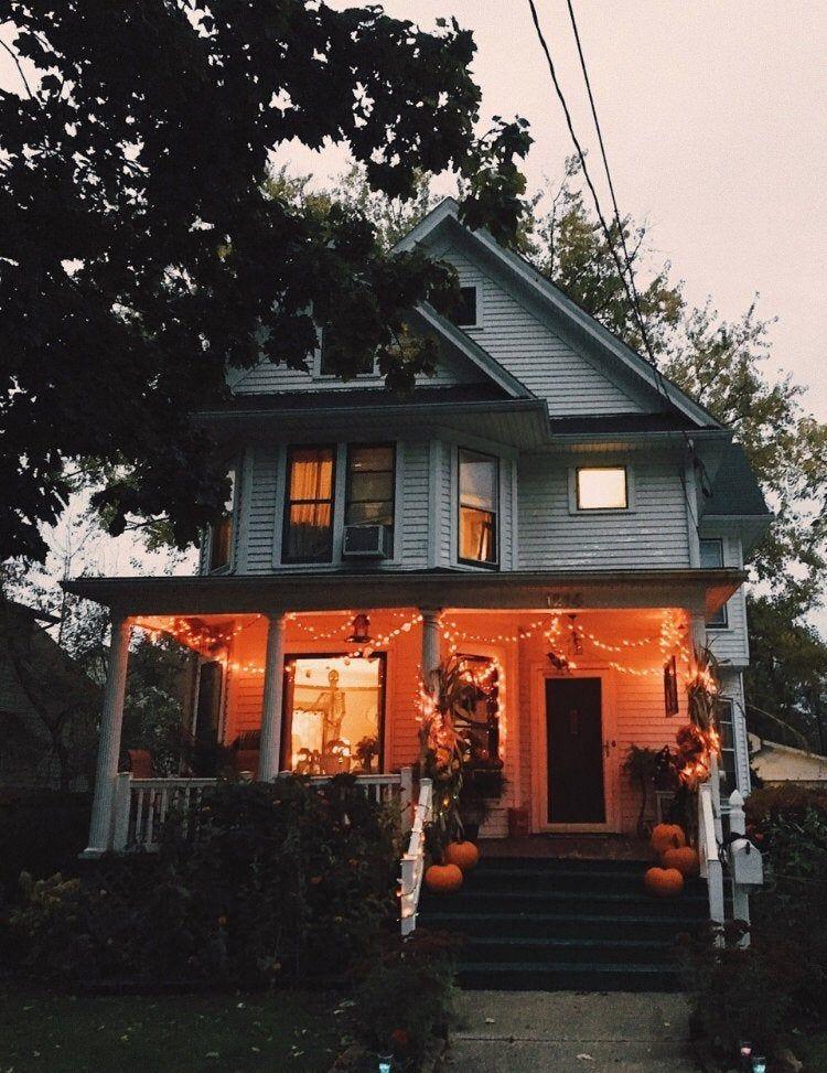 Cute house halloween Future house, Halloween house, House