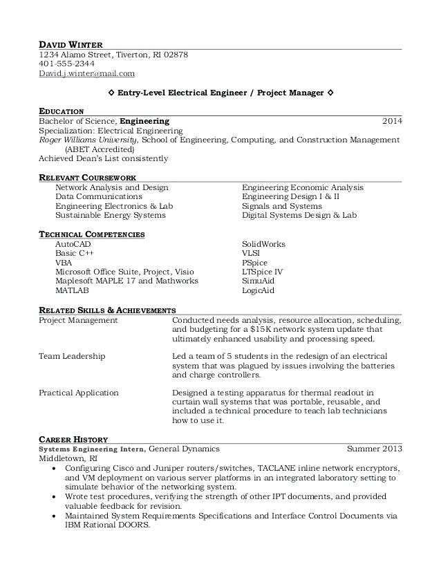 resume templates recent college graduate  resume