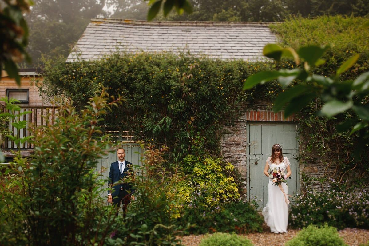 Real Wedding at Ever After; Christina and Rob. Photography by Voytek Flowers by Dartmoor Flowers