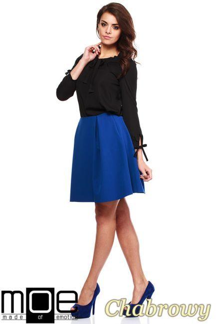 8522ca8a4c Spódnica kobieca z dwiema zakładkami marki MOE.  ubrania  odzież  cudmoda   moda  styl  clothes  spódnice