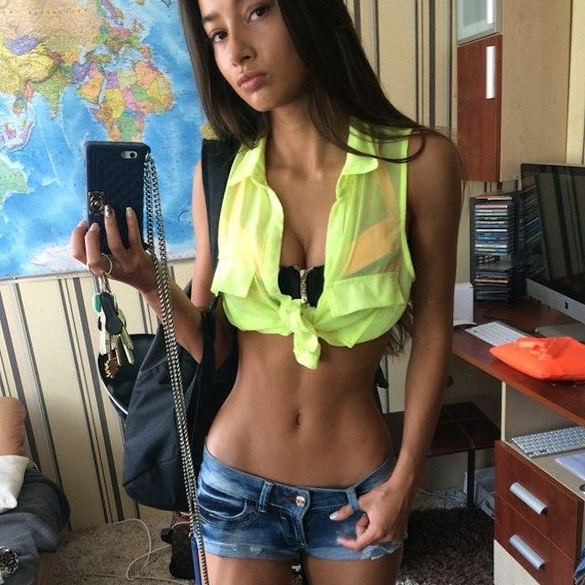 Skinny petite