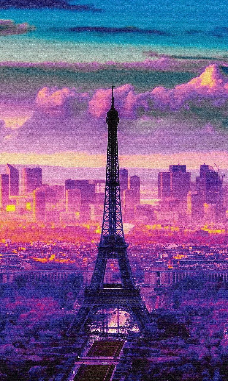Sunrise Wallpapers Hd Download Paris Wallpaper Beautiful Wallpapers Eiffel Tower Eiffel tower wallpaper hd download