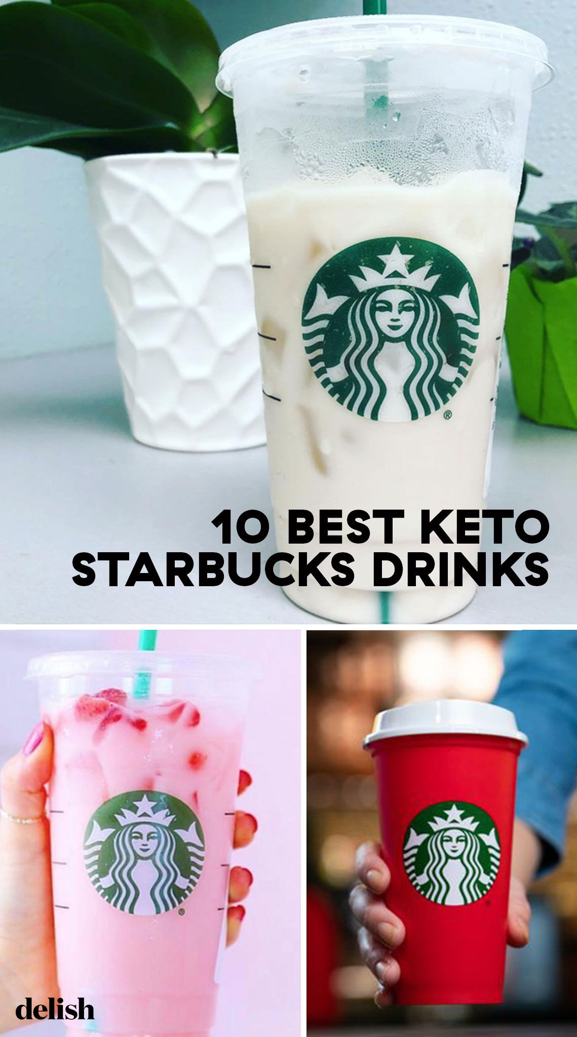 The Best Keto-Friendly Drinks To Order At Starbucks
