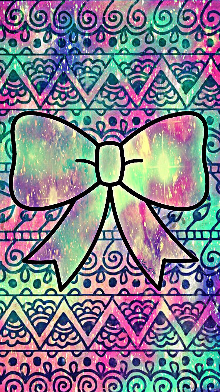 Cute Pattern Bow Wallpaper