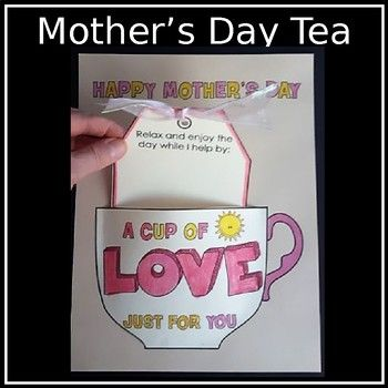 You Ll Have So Much Fun With This Craft Yes That Tea Cup Is 3d Drop A Tea Bag Into The Decorated Mothers Day Crafts For Kids Mothers Day Diy Gifts