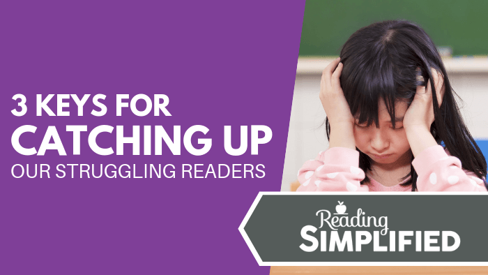 Do you have a few struggling readers that have fallen behind the rest of the class? Don't worry, there's a quick and easy way that you can boost every reader faster using the top 3 tips I share with you in my latest blog post.