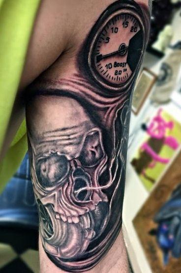 e8b632c65b61f 70 Car Tattoos For Men - Cool Automotive Design Ideas   tattoos ...