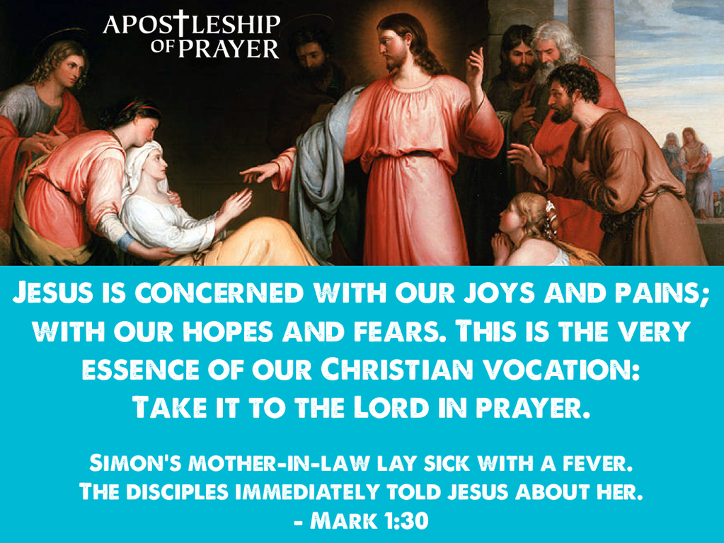 Have you shared your concerns with the Lord lately?
