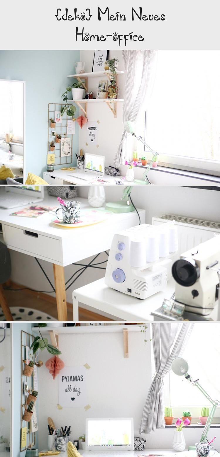Deko Mein Neues Home Office Home Office Deko Beleuchtung Wohnzimmer