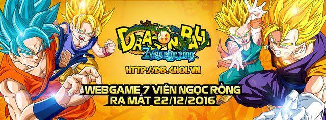 Dragon Ball Web Chinh Thuc Ra Mat Game Thu Viet Ngay 22 12 Dragon Game Viết