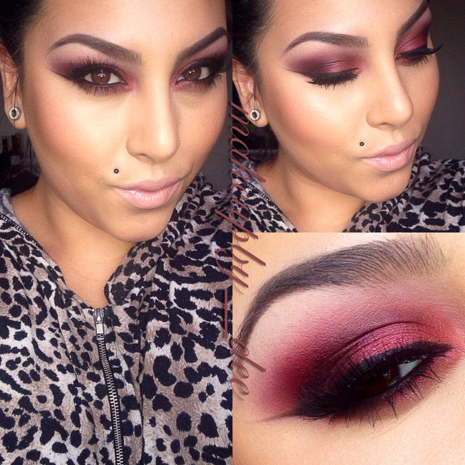Smokey Hot Pink Eyes