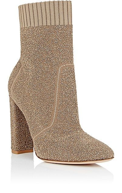 1edee44b1df2 Gianvito Rossi Isa Bouclé-Knit Ankle Boots - Boots - 505267176 ...