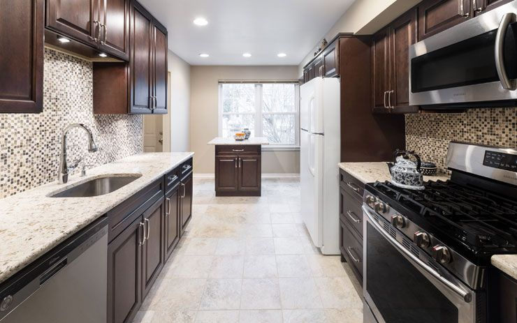 Hallmark - Chestnut, Cabinets,home remodelling, Brooklyn ...