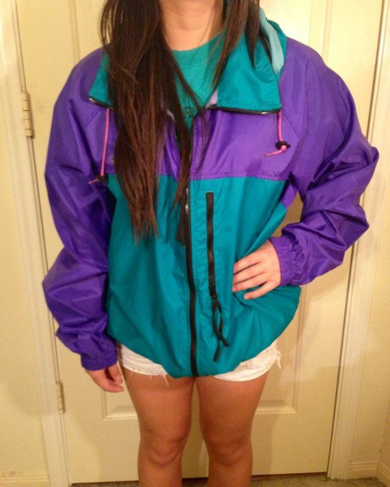 Vintage Columbia Windbreaker Jacket Retro | Windbreaker, Columbia ...