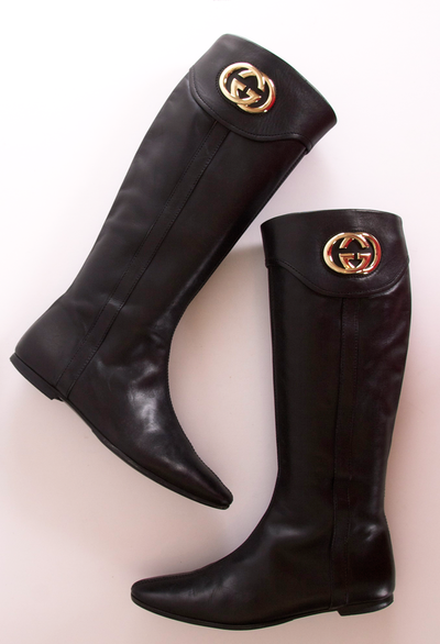 6b19b278e15f GUCCI BOOTS she s wearing these at the end of the wolf on Wall Street (with  spiked heels)