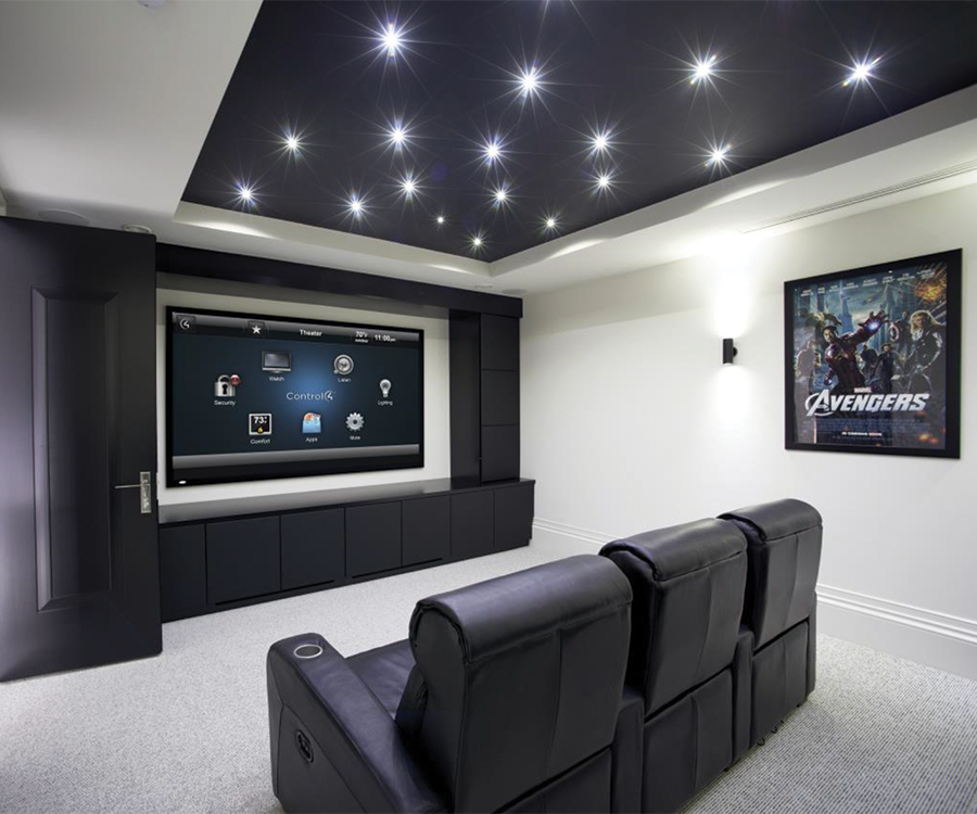 Home Entertainment Spaces: Home Theater Trends - 417 Magazine - March 2016