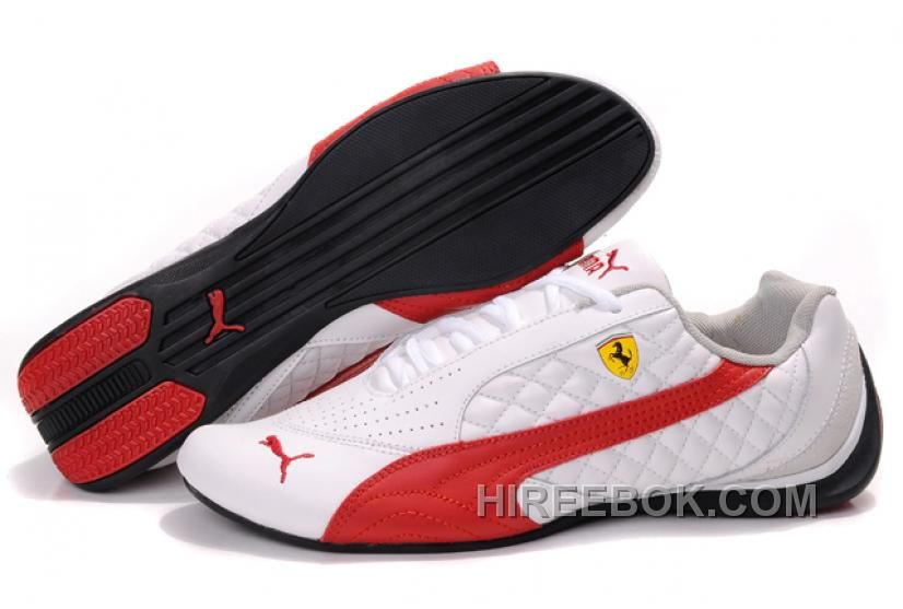online retailer 73431 941a9 Mens Puma Wheelspin White Red Black Authentic 217519, Price   74.00 - Reebok  Shoes,Reebok Classic,Reebok Mens Shoes