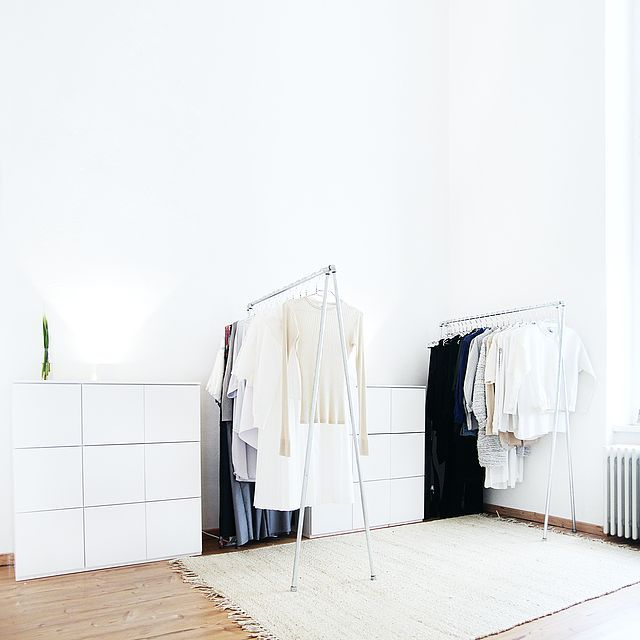 Interior My Minimalist Wardrobe Tour Video Jenny Mustard Home