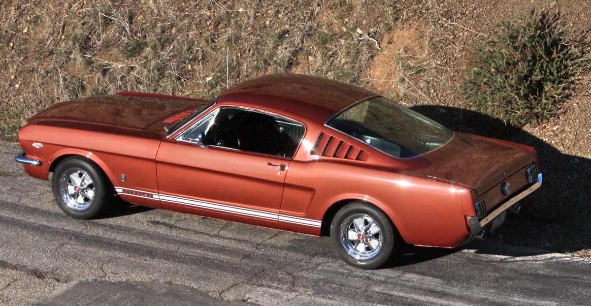 1965 Mustang Fastback A Code Gt Mustang Fastback 1965 Mustang Mustang