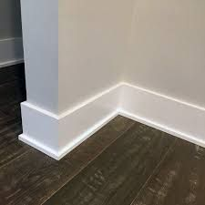 4 5 Squared Baseboard W Square 3 8 Shoe Moulding