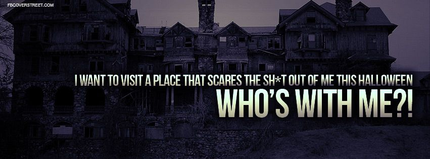 scary halloween quotes and sayings visit a scary place this halloween halloween is my favorite - Scary Halloween Quotes And Sayings