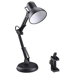 Le Lampe De Bureau Led 5w Avec Bras Pliable Culot E27