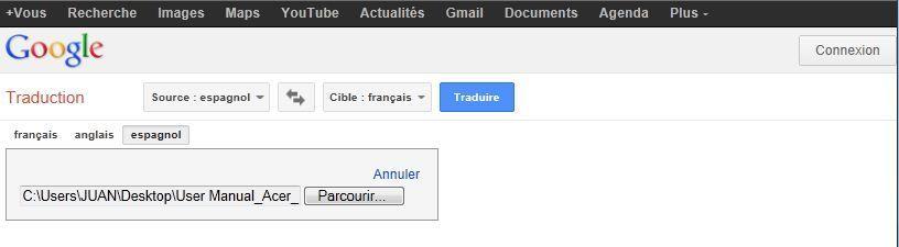 Google Traduction Traduire Un Document Complet Mistipi Desktop Screenshot