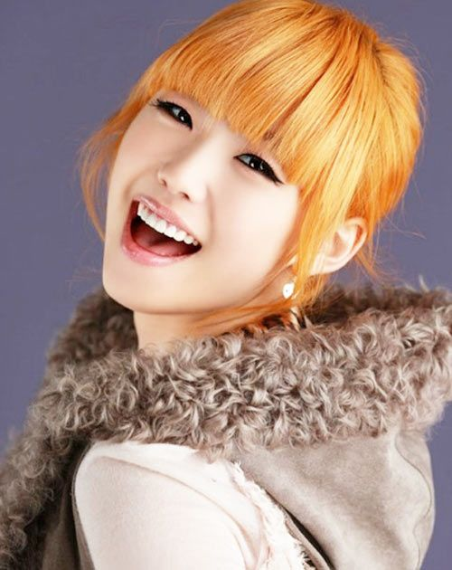 asian with light orange yellow