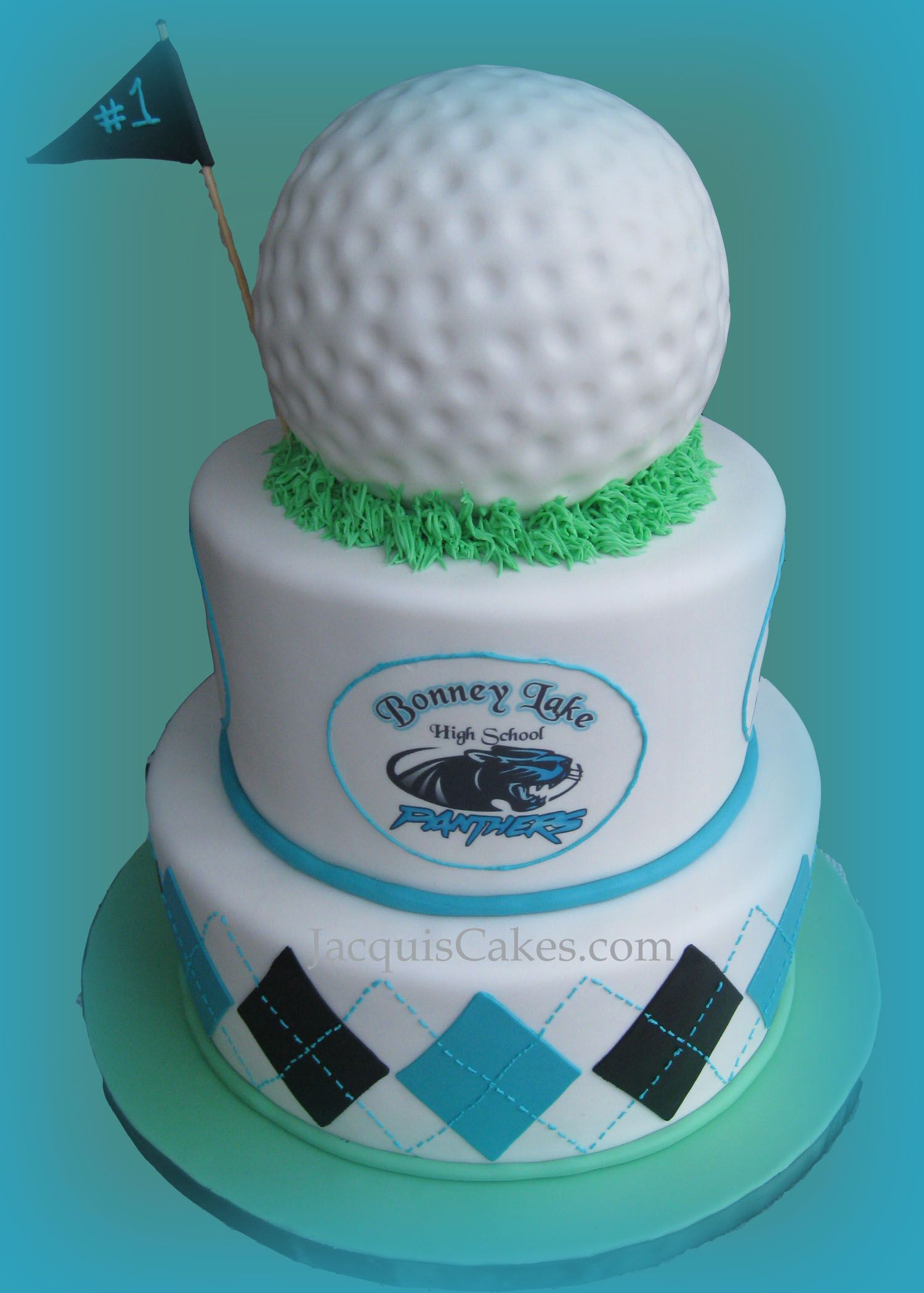 Argyle Edible Images Like A Golf Ball The Panthers Logo