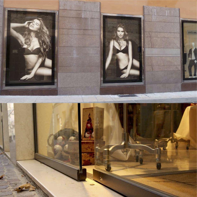 Porta ingresso negozio 28 images dai serramenti ai for Ragazze diva futura