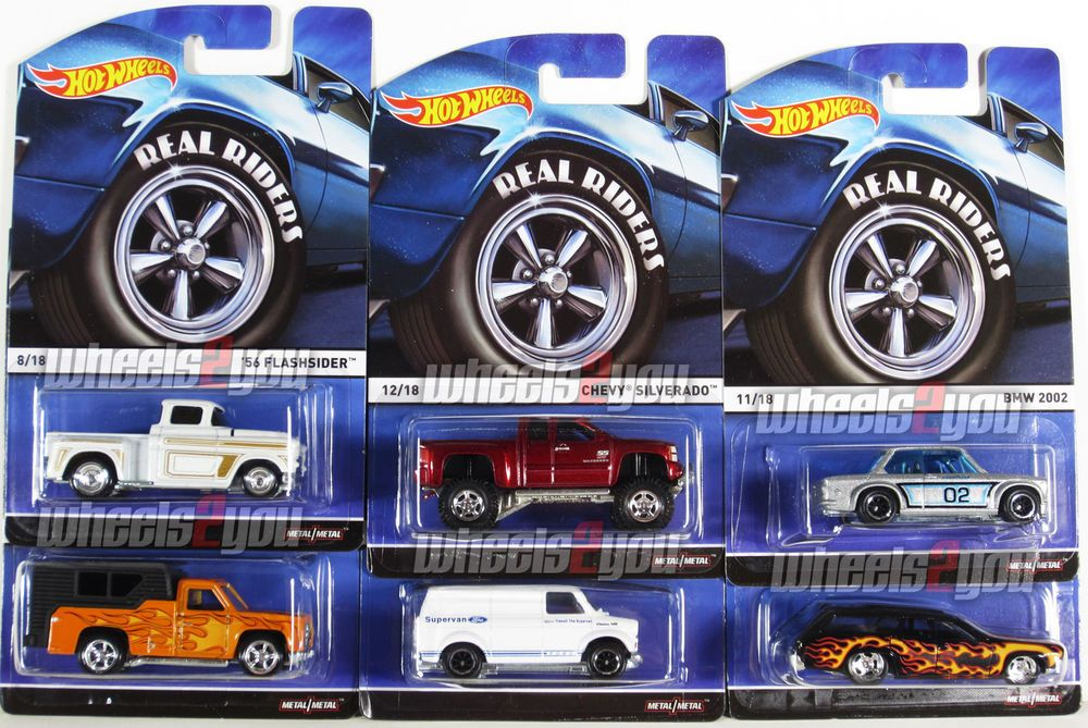 2015 Hot Wheels Heritage Case C Love That Red Chevy And The Van