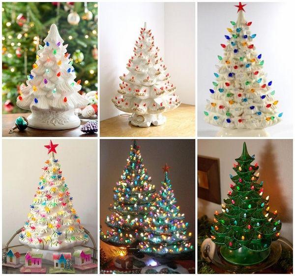 Ceramic Christmas Tree - charmante Dekorationen mit einem ...