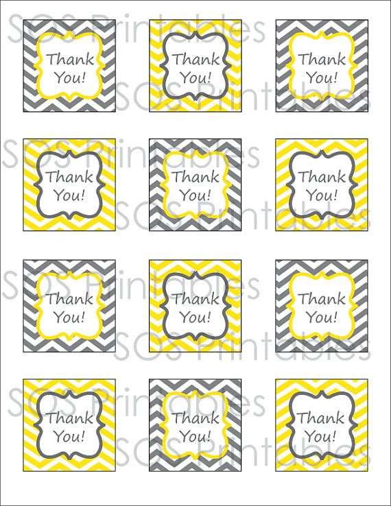 It's just an image of Thank You Printable Tags inside birthday